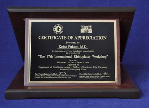 Shield-The 17th International Rhinoplasty Workshop